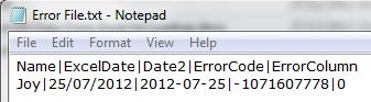 Error File